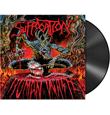 SUFFOCATION - 'Human Waste' LP