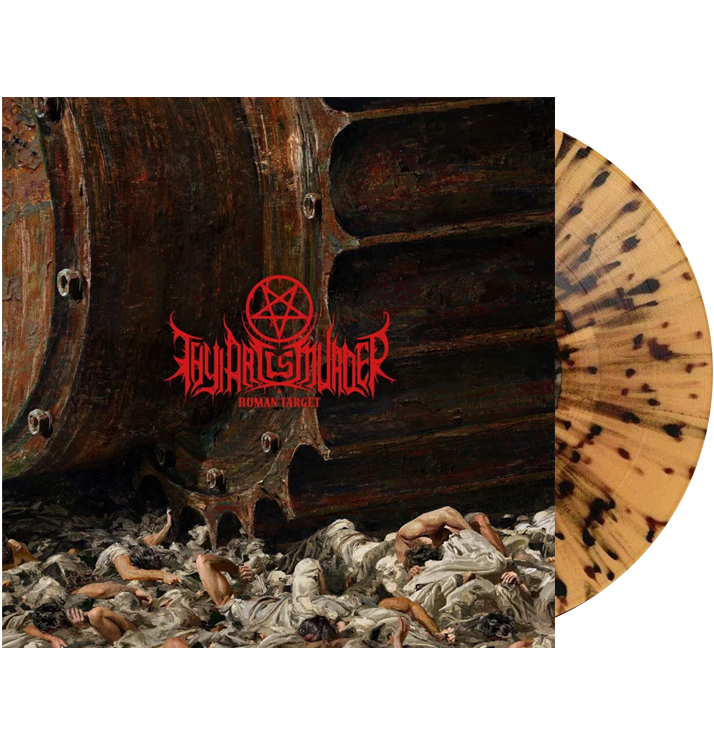 THY ART IS MURDER - 'Human Target' LP (Beer)