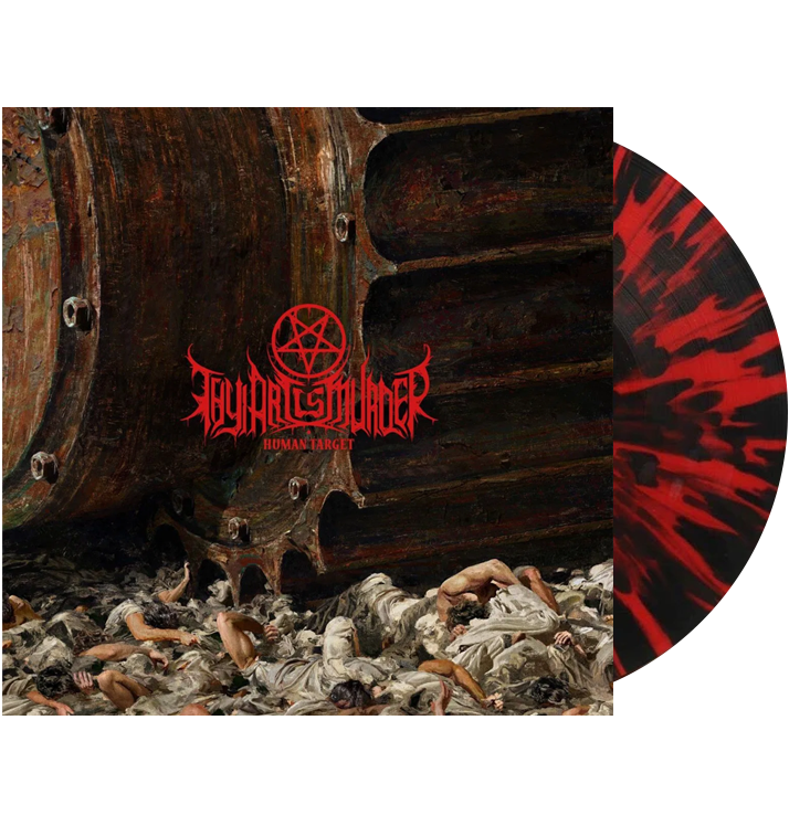THY ART IS MURDER - 'Human Target' LP (Red)