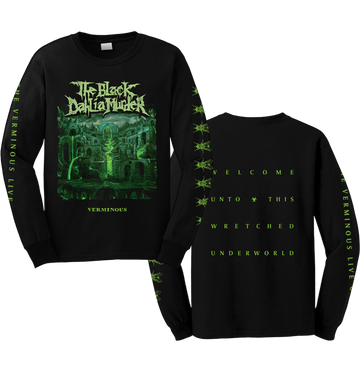 THE BLACK DAHLIA MURDER - 'Verminous' Long Sleeve