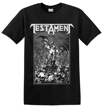 TESTAMENT - 'Pitchfork Horns' T-Shirt