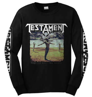 TESTAMENT - 'Practice What You Preach' LongSleeve