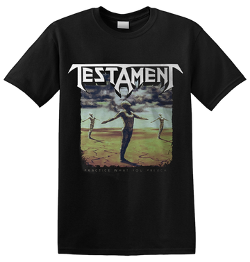 TESTAMENT - 'Practice What You Preach' T-Shirt