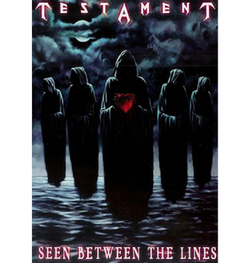 TESTAMENT - 'Seen Between the Lines' DVD