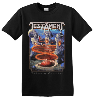 TESTAMENT - 'Titans Of Creation' T-Shirt