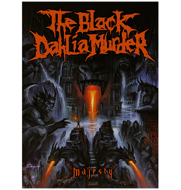 THE BLACK DAHLIA MURDER - 'Majesty' 2DVD
