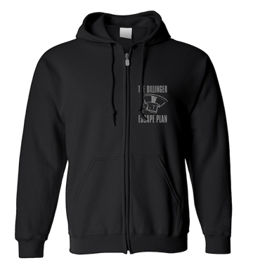 THE DILLINGER ESCAPE PLAN - 'Transistor' Zip-Up Hoodie