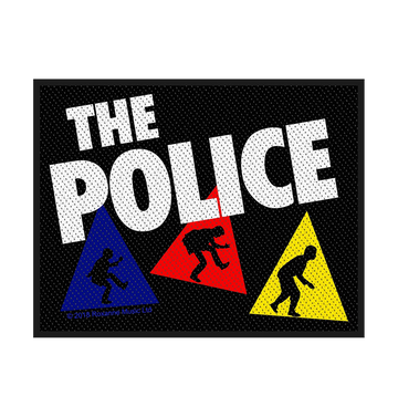 THE POLICE - 'Triangles' Patch