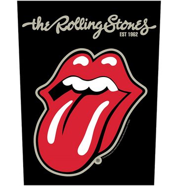 THE ROLLING STONES - 'Plastered Tongue' Back Patch