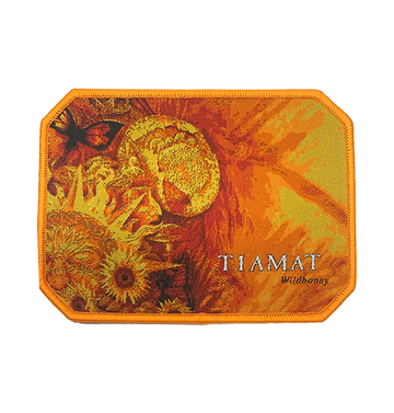 TIAMAT - 'Wildhoney (Yellow Edging)' Patch