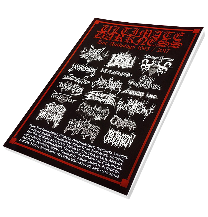 'Ultimate Darkness Zine Anthology 1995 / 2017' Book