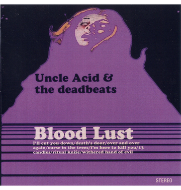 UNCLE ACID AND THE DEADBEATS - 'Blood Lust' CD