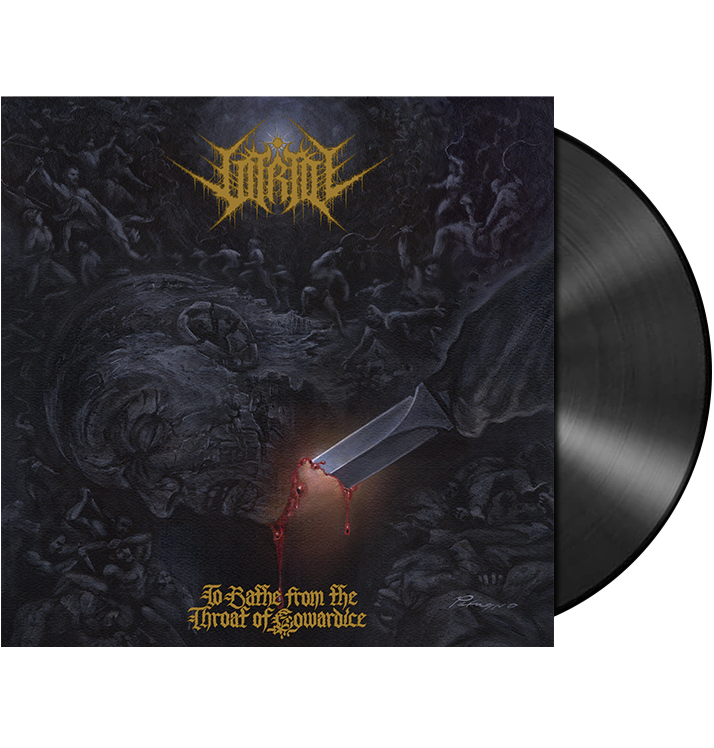 VITRIOL - 'To Bathe From The Throat Of Cowardice' LP