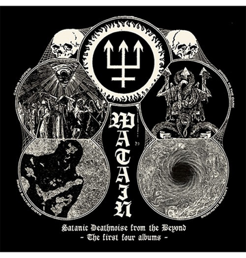 WATAIN - 'Satanic Deathnoise From The Beyond - The First Four Albums' 4CD
