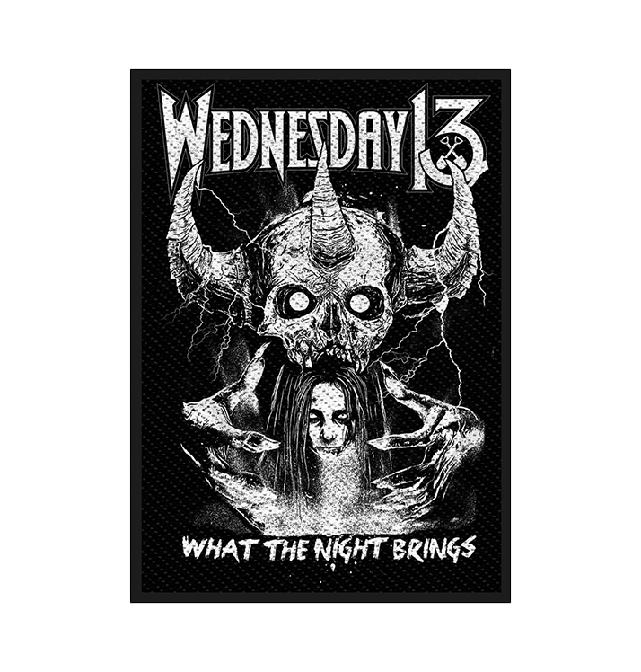 WEDNESDAY 13 - 'What The Night Brings' Patch