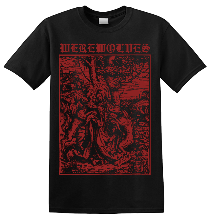 WEREWOLVES - 'Attacked By Wolves' T-Shirt