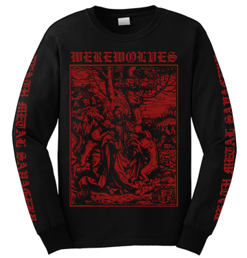 WEREWOLVES - 'Attacked By Wolves' Long Sleeve