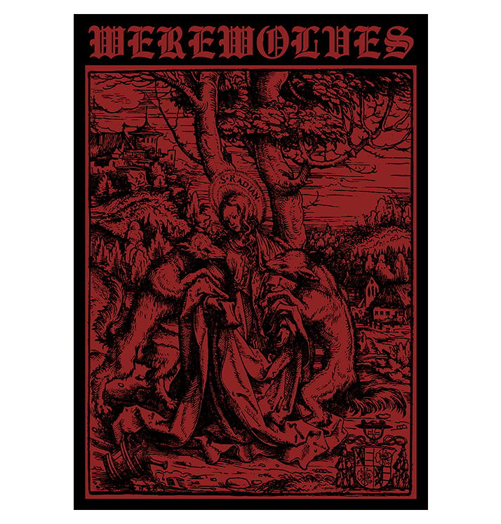WEREWOLVES - 'Attacked By Wolves' Patch