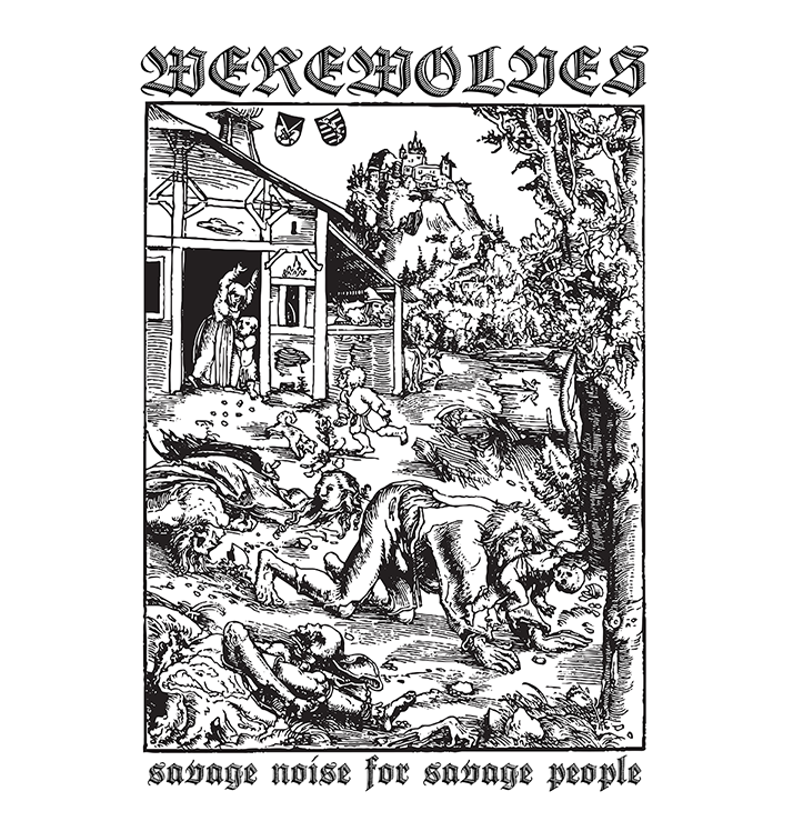 WEREWOLVES - 'Savage Noise For Savage People' Patch