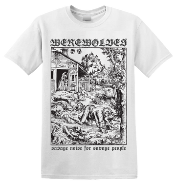 WEREWOLVES - 'Savage Noise' T-Shirt