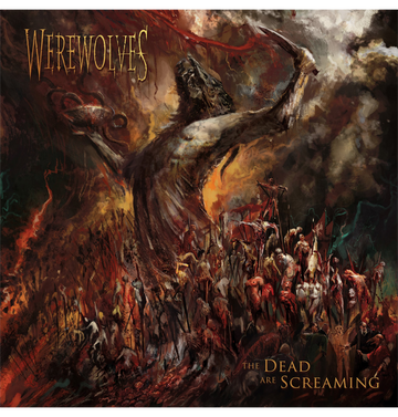 WEREWOLVES - 'The Dead Are Screaming' CD