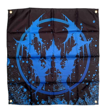 WHORETOPSY - 'Blue Emblem' Flag