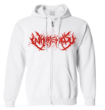 WHORETOPSY - 'Blood Splatter' Zip-Up Hoodie