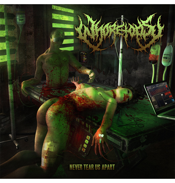 WHORETOPSY - 'Never Tear Us Apart' CD