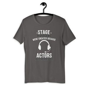 Because Actors Need Heroes Too Men's T-Shirt - Happy Drama Shirts