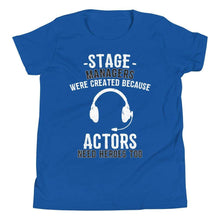 Load image into Gallery viewer, Because Actors Need Heroes Too Youth T-Shirt - Happy Drama Shirts
