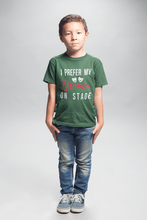 Load image into Gallery viewer, I Prefer My Drama On Stage Youth T-Shirt - Happy Drama Shirts