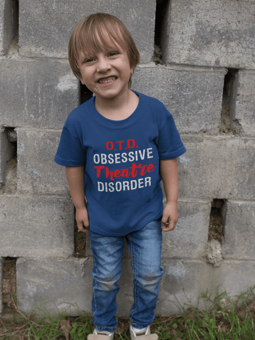 O.T.D. Obsessive Theatre Disorder Youth T-Shirt - Happy Drama Shirts