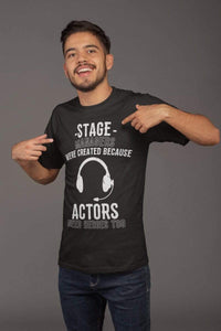 Actors Need Heroes Too Men's T-Shirt
