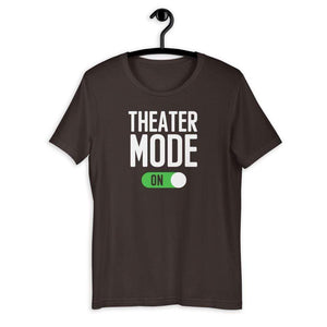 Theater Mode On Men's T-Shirt - Happy Drama Shirts