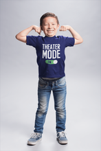 Load image into Gallery viewer, Theater Mode On Youth T-Shirt - Happy Drama Shirts
