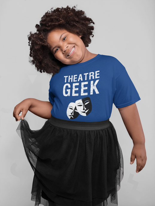 Theatre Geek Youth T-Shirt - Happy Drama Shirts