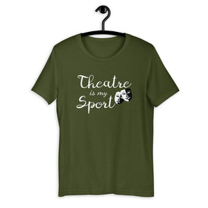 Theatre Is My Sport Men's T-Shirt - Happy Drama Shirts