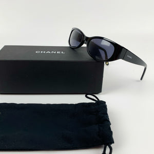 Chanel oval sunglasses