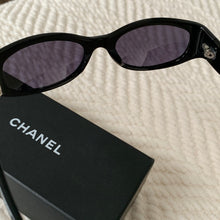 Load image into Gallery viewer, Chanel oval sunglasses