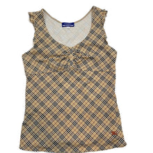 Load image into Gallery viewer, Burberry novacheck tank top