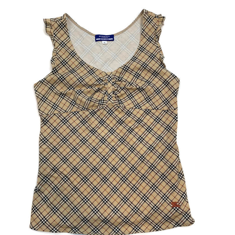 Burberry novacheck tank top