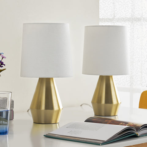 "Maxax 15"" Table Lamp (Set of 2)(USB Built in)#T02"