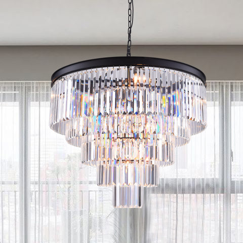 Maxax 12 - Light Unique Tiered Chandelier #155205