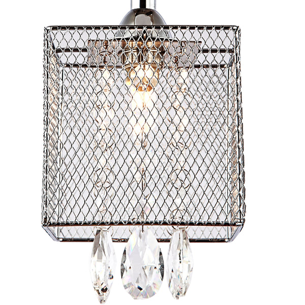 Maxax 3 - Light Shaded Square Chandelier #OM209P-3CH