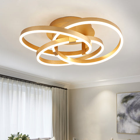 Maxax LED Gold Ceiling Light #19035