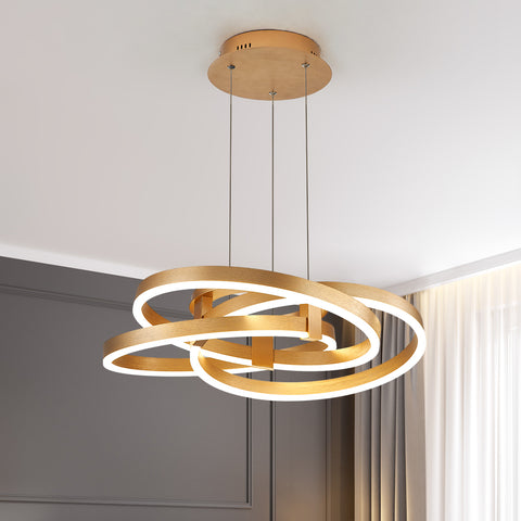Maxax LED Gold Pendant Light #19034