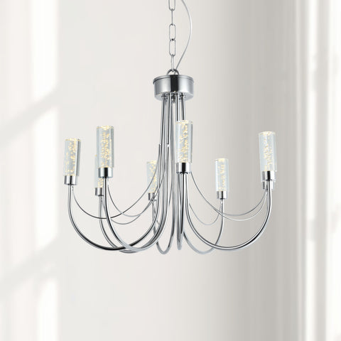 Maxax  8 - Light Shaded Classic LED Chandelier #OM22-8