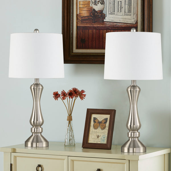 "Maxax 26.5"" Bedside Table Lamp Set #T44"