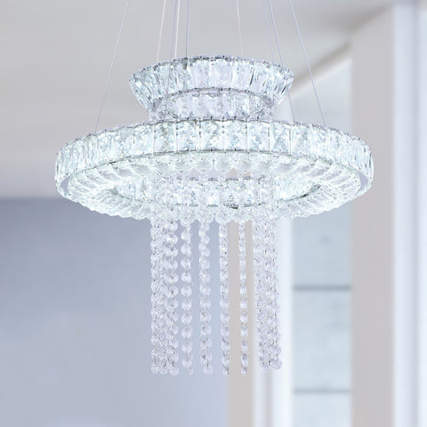 Maxax 2 - Light Unique / Statement LED Crystal Chandelier #YX-08