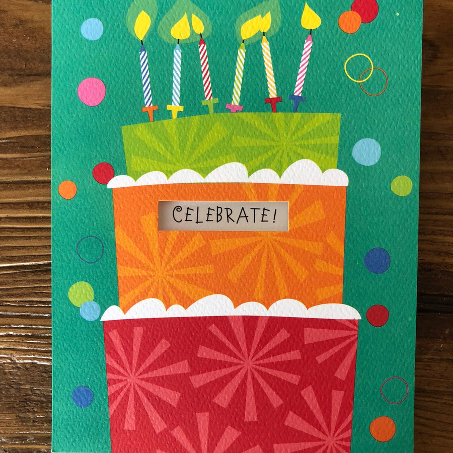 Birthday Card - Celebrate